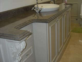 CKW Lifestyle Associates PTY Ltd Eclectic style bathroom Wood Beige