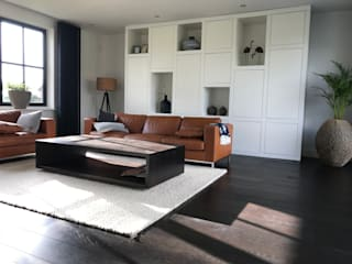 ARDEE Parket Interieur Design Modern living room Wood Brown