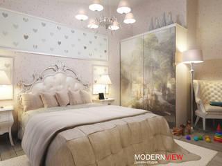 Абхазия Детская комната в стиле модерн от Дизайн - студия MODERN VIEW Модерн