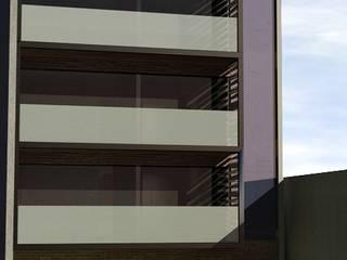 Fachada Principal: Condominios de estilo  por mova