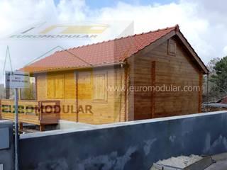 Casa de Madeira Modelo Almada T1+1 por EUROMODULAR