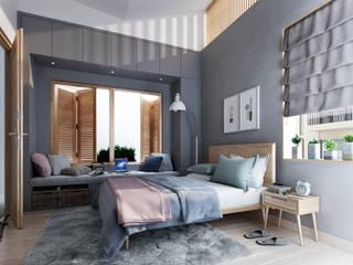 İskandinav Yatak Odası Studio Gritt İskandinav