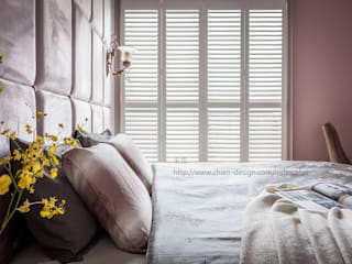 Shutters by 鼎士達室內裝修企劃, Country