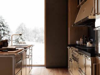 Кухня для интерьера в стиле Лофт от NABOKOFF английские интерьеры Лофт
