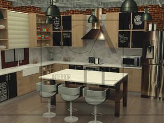 Cocina de Vivienda Cocinas de estilo industrial de Scale Interior Design Industrial
