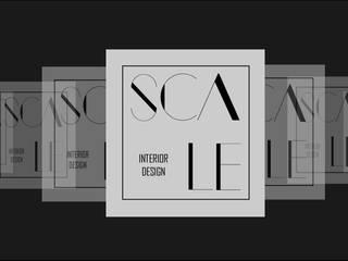 Logo Scale:  de estilo  por Scale Interior Design,