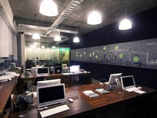 Oficinas Koncretar de 12.20 Estudio de Arquitectura Moderno