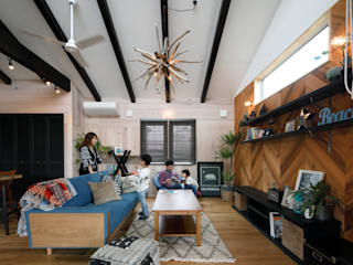 eclectic Living room by dwarf