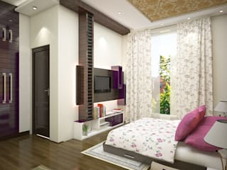 Interior:  Bedroom by BS Interio