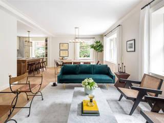 Проект апартаменты Мэдиссон : Гостиная в . Автор – VADIM MALTSEV DESIGN&DECOR | FURNITURE