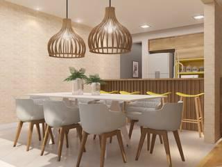 INTERIORES M | S Salas de jantar modernas por Drömma Arquitetura Moderno