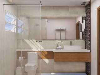 INTERIORES M | S Banheiros modernos por Drömma Arquitetura Moderno