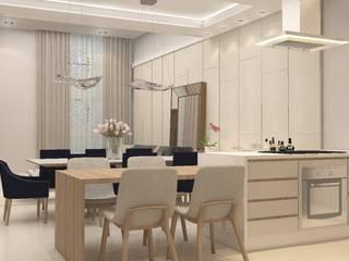 INTERIORES J | W Cozinhas modernas por Drömma Arquitetura Moderno