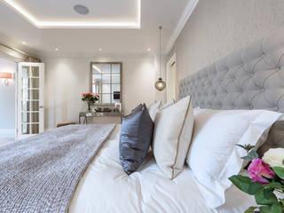 Double Basement Conversion & Renovation Jubilee Place, Chelsea, London Modern style bedroom by SJ Construction London Modern