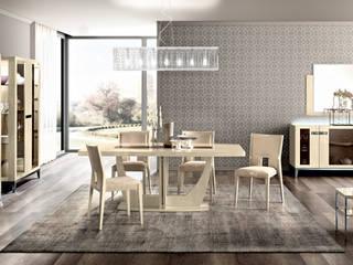 """Modernes Wohn-Esszimmer """"Ambra"""": modern  von SPELS-MÖBEL UG,Modern"""