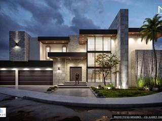 Misiones Casas modernas de DAMAJO Grupo Inmobiliario Moderno