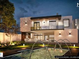 Misiones Jardines modernos de DAMAJO Grupo Inmobiliario Moderno