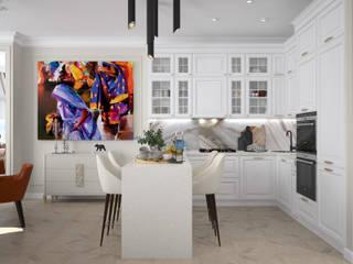 Квартира на Цветном: Кухни в . Автор – Инна Азорская