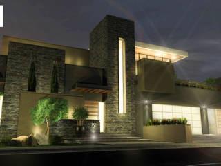 Casa L25 Casas industriales de DAMAJO Grupo Inmobiliario Industrial