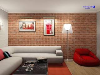 Salas de estar industriais por 'Design studio S-8' Industrial