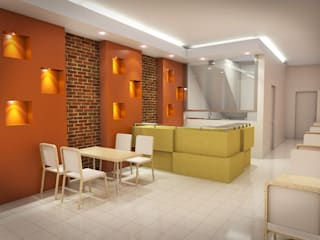 Cafe Kotak Serpong:  Restoran by Dekapolis Design