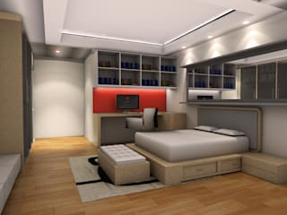 Penthouse MOI:  Kamar Tidur by Dekapolis Design