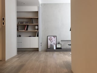Corridor and hallway by Fertility Design 豐聚空間設計,