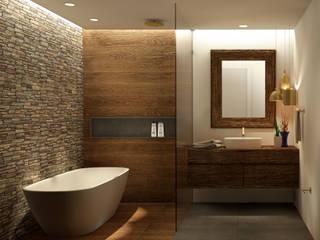 Casa de Banho Belas Clube de Campo - PT: Casas de banho  por Scopo Arquitetura e Interiores