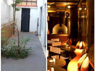 DISEÑO DE RESTAURANTES Antes y despues Gdl, Jal, Mex.: Restaurantes de estilo  por B&Ö Arquitectura interior y muebles | Diseño de bares y restaurantes / Interiorismo y Decoración México.