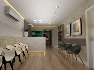 Clinica clinday Clínicas modernas por LC Design de Interiores Moderno