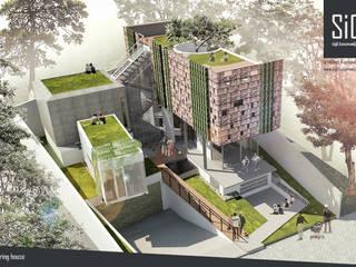 sigit.kusumawijaya | architect & urbandesigner Single family home Brown