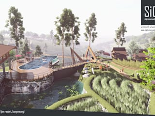 Ijen Resort, Banyuwangi: Hotels oleh sigit.kusumawijaya | architect & urbandesigner, Tropis