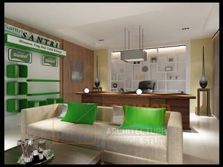 CV Leilinor Architect Office buildings Green