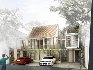 Jogja Guest House: Hotels oleh sigit.kusumawijaya | architect & urbandesigner, Tropis