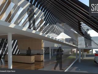 Ironwood Stripes House: Hotels oleh sigit.kusumawijaya | architect & urbandesigner, Tropis