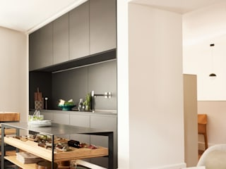 New York Apartment 根據 Kitchen Architecture 現代風