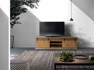 Mueble tv corredera:  de estilo  de CASANOVA GANDIA