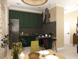 Дизайн проект интерьера квартиры: Гостиная в . Автор – Екатерина Александрова
