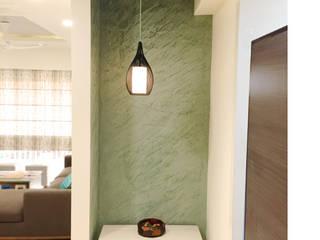 Apartment Interior :  Corridor & hallway by URBAIN DEZIN STUDIO