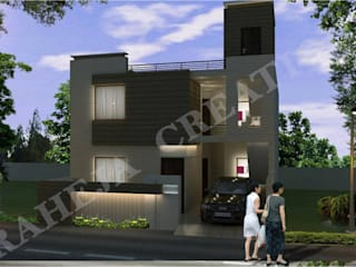 Interior Modern houses by Raheja Creations Modern
