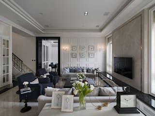 Modern Living Room by Fertility Design 豐聚空間設計 Modern