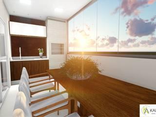 Apartamento Diana e Marcio por Karla Araujo | Arquitetura + Interiores Moderno