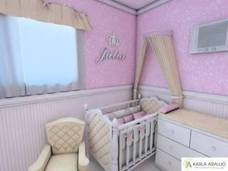 Quarto Infantil - Júlia por Karla Araujo | Arquitetura + Interiores Clássico