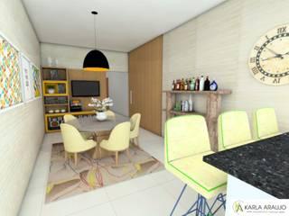 Residência Maykon e Gabriella por Karla Araujo | Arquitetura + Interiores Moderno
