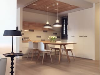 Modern Dining Room by Fertility Design 豐聚空間設計 Modern