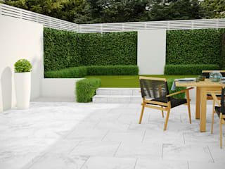PorcelPave Outdoor Porcelain Tiles The London Tile Co. Paredes y pisosBaldosas y azulejos Porcelana Gris