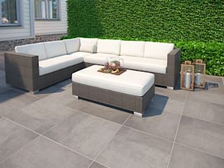 PorcelPave Outdoor Porcelain Tiles The London Tile Co. Paredes y pisosBaldosas y azulejos Porcelana