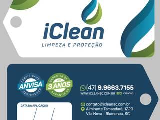 Identidade Visual por iClean Limpeza e Proteção