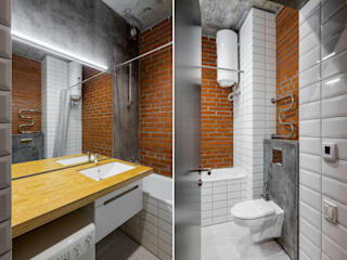 Bathroom by PK AID, Industrial