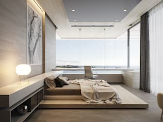 CASA 423 Dormitorios minimalistas de CIC ARQUITECTOS Minimalista